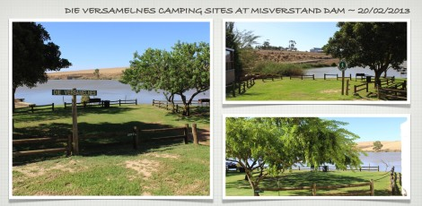 Campsites ~ Misverstand Dam ~ Feb 2013