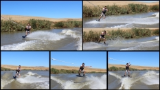 Wakeboarding ~ Berg River ~ Feb 2013