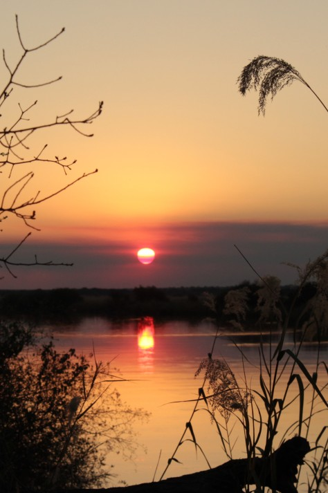 Sunset at Rundu