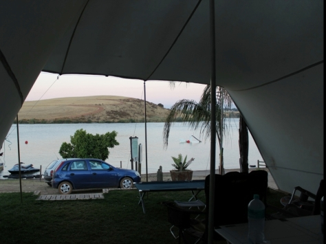 Campsite View ~ Misverstand Dam ~ Jan 2013