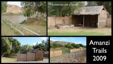 Campsites at Amanzi Trails, Namibia - 2009