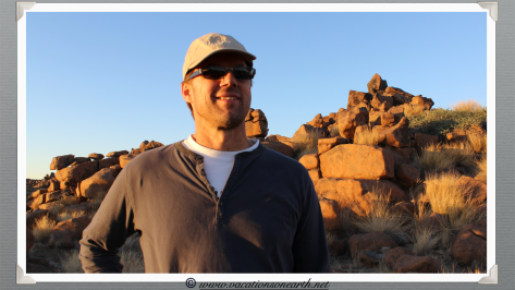 Ian at Giants Playground - Namibia 2013 (August)