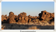 The incredible formations at Giants Playground - Namibia 2013 (August)