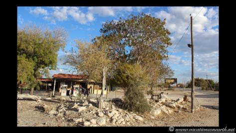 Tsumkwe's petrol station and general dealer.