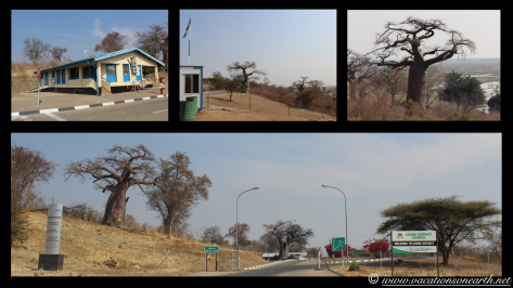 Namibia to Botswana 2013 - Road from Caprivi Strip through Ngoma Border Post into Botswana.001