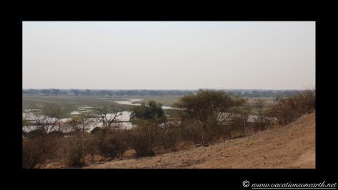 Namibia to Botswana 2013 - Road from Caprivi Strip through Ngoma Border Post into Botswana.003