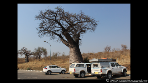 Namibia to Botswana 2013 - Road from Caprivi Strip through Ngoma Border Post into Botswana.004