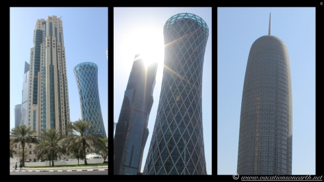 Doha Buildings touching the sky