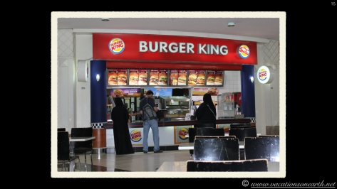 Burger King at City Centre Shopping Mall.