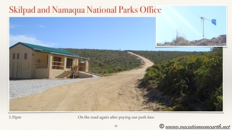 South Africa West Coast - Drive from Houthoop through the Namaqua and Skilpad National Park towards Cape Town.042