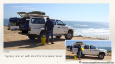 South Africa West Coast - Drive from Houthoop through the Namaqua and Skilpad National Park towards Cape Town.047