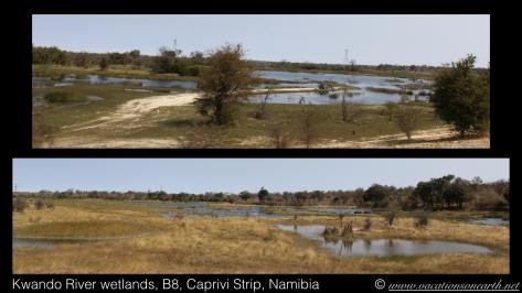 Namibia 2013 - Road from Chobe, Botswana to Nambwa, Namibia.010