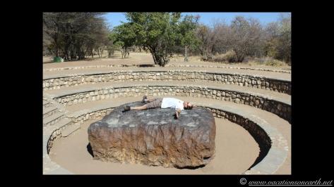 Namibia 2013 - Hoba Meteorite, Grootfontein, 19 Aug 2013.012