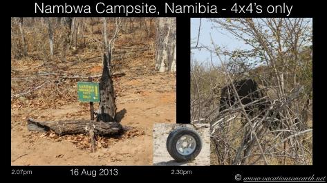 Namibia 2013 - Nambwa Campsite, 16 Aug.001