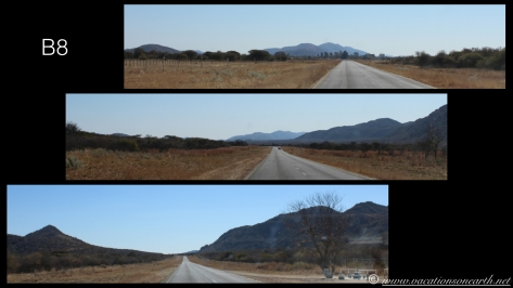 Namibia 2013 - Road trip from Hoba Meteorite, Grootfontein to Weaver's Rock Campsite, 19 Aug.001
