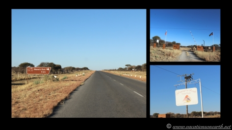 Namibia 2013 - Road trip from Hoba Meteorite, Grootfontein to Weaver's Rock Campsite, 19 Aug.025