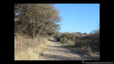 Namibia 2013 - Road trip from Hoba Meteorite, Grootfontein to Weaver's Rock Campsite, 19 Aug.027
