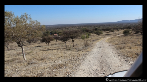 Namibia 2013 - Road trip from Hoba Meteorite, Grootfontein to Weaver's Rock Campsite, 19 Aug.039