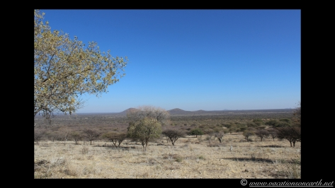 Namibia 2013 - Road trip from Hoba Meteorite, Grootfontein to Weaver's Rock Campsite, 19 Aug.040