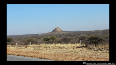 Namibia 2013 - Road trip from Hoba Meteorite, Grootfontein to Weaver's Rock Campsite, 19 Aug.043