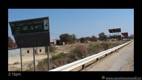 Namibia 2013 - Road trip from Nambwa Camp to Samsitu Riverside Camp, Rundu, 18 Aug.005