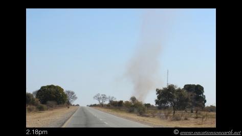 Namibia 2013 - Road trip from Nambwa Camp to Samsitu Riverside Camp, Rundu, 18 Aug.006