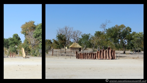 Namibia 2013 - Road trip from Simsitu Riverside Camp, Rundu to Hoba Meteorite, Grootfontein.004
