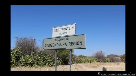 Namibia 2013 - Road trip from Simsitu Riverside Camp, Rundu to Hoba Meteorite, Grootfontein.007