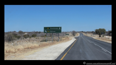Namibia 2013 - Road trip from Simsitu Riverside Camp, Rundu to Hoba Meteorite, Grootfontein.012