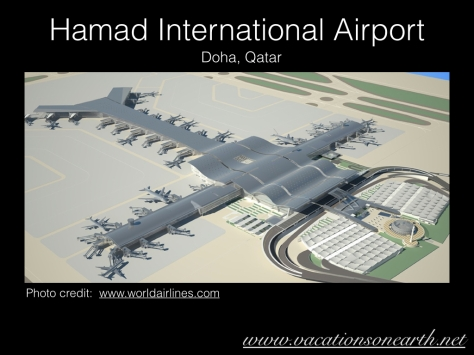 Hamad International Airport artists impression