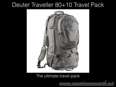 Dexter Traveller 80+10 Backpack