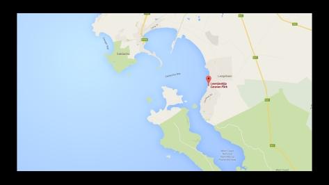 Leentjiesklip Caravan Park, Google Map.002