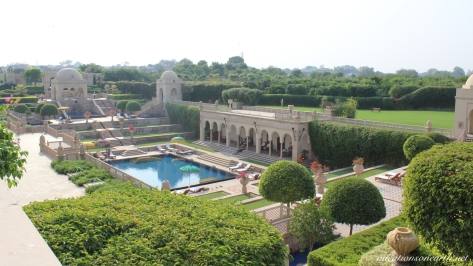 Agra, The Oberoi Amarvilas Hotel.010
