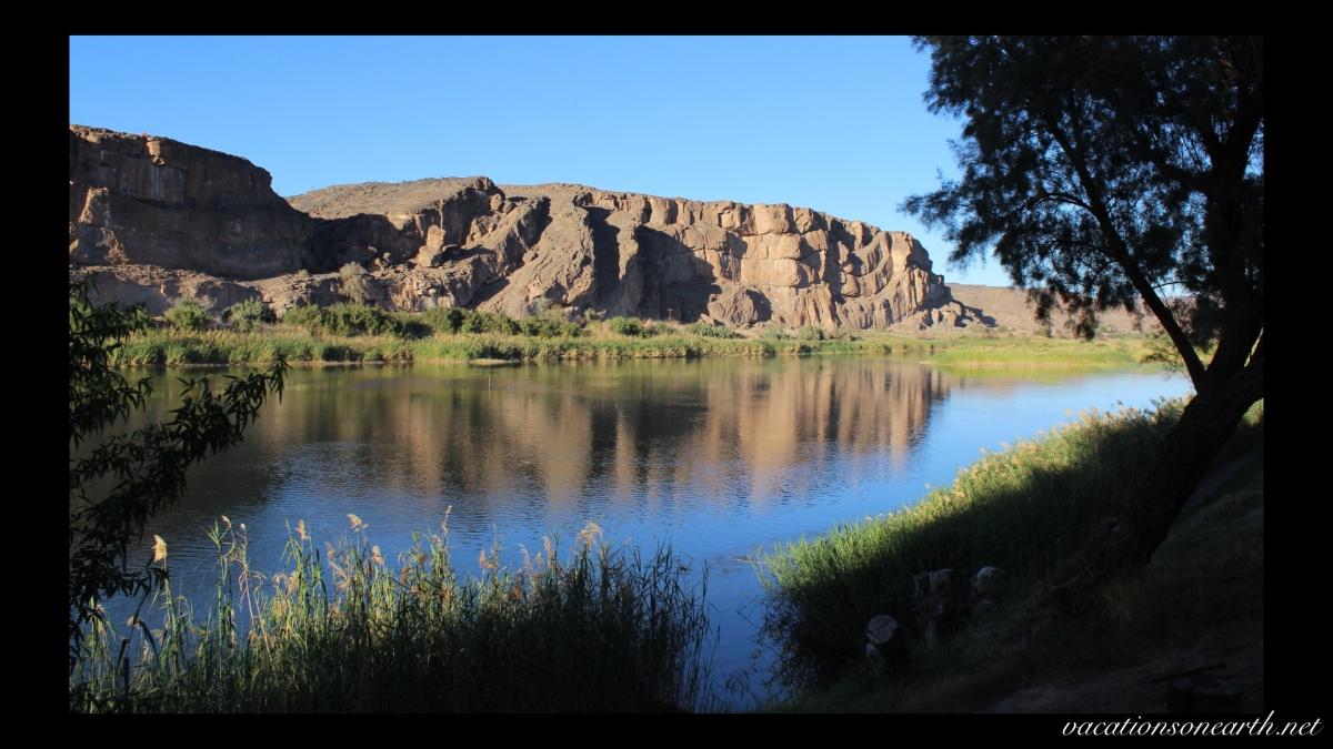 Day 10 - Lake Oanob Resort, Rehoboth to Amanzi Trails, Noordoewer, alongside the Orange River - Sep 2013