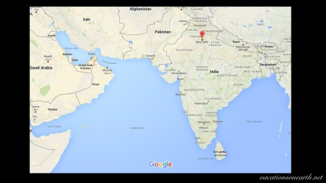 Map of India showing New Delhi.001