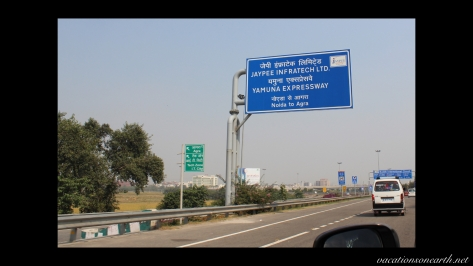New Delhi to Agra drive.005