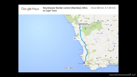 Noordoewer to Cape Town map.001